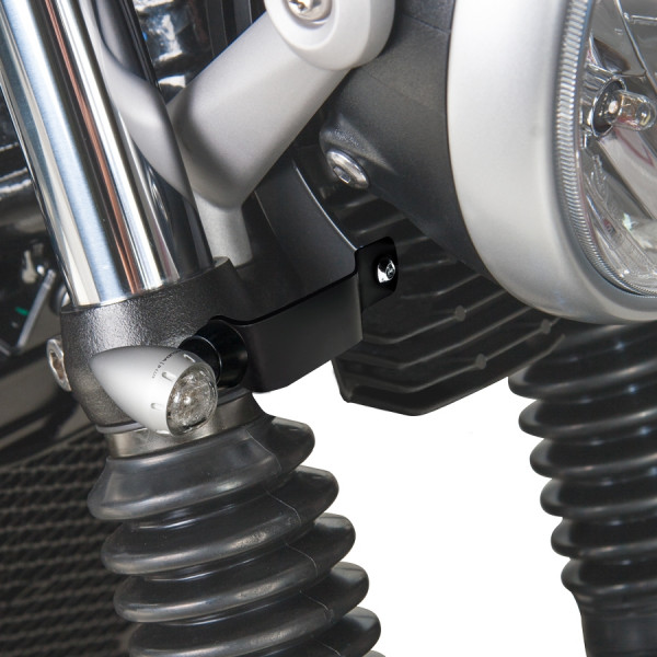 INDICATOR BRACKET SPECIFIC FOR TRIUMPH STREET TWIN (kit)
